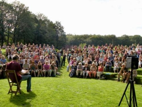 opening tuin De Lage Oorsprong evenement met hang